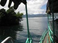 Pemandangan dari atas kapal